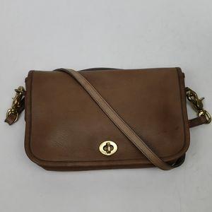 Vintage Coach Dinky Bag Tan